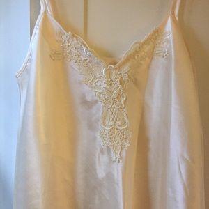 Vintage cream slip/nightgown